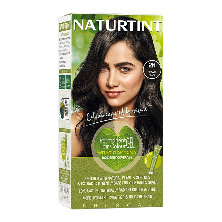 Naturtint Permanent Hair Colour 2N Brown Black
