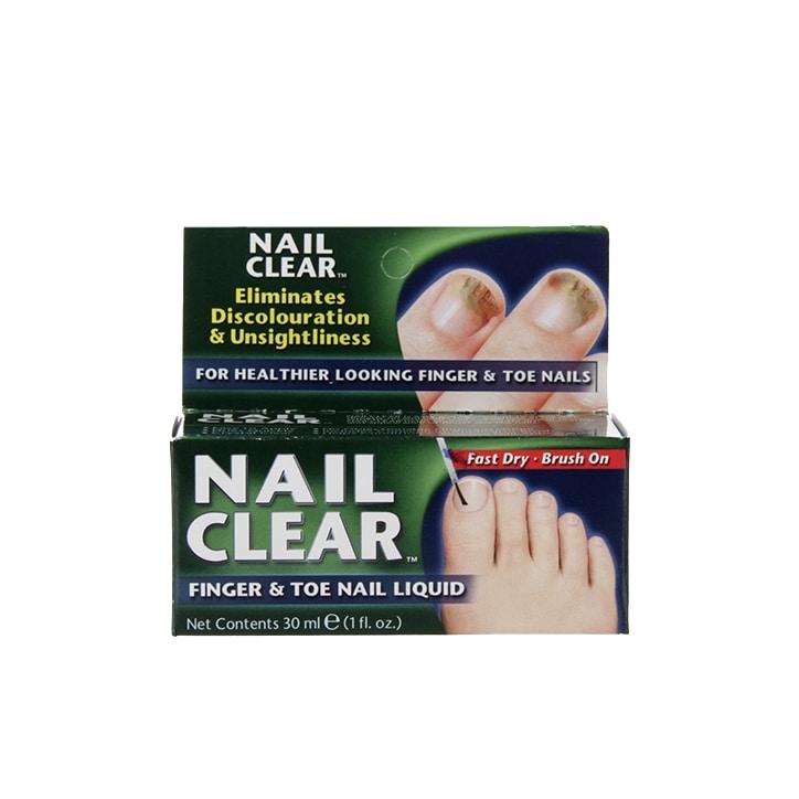Nail Clear Finger & Toe Nail Liquid 30ml