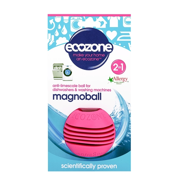 Ecozone 2 in 1 Magnoball Anti-Limescale Ball