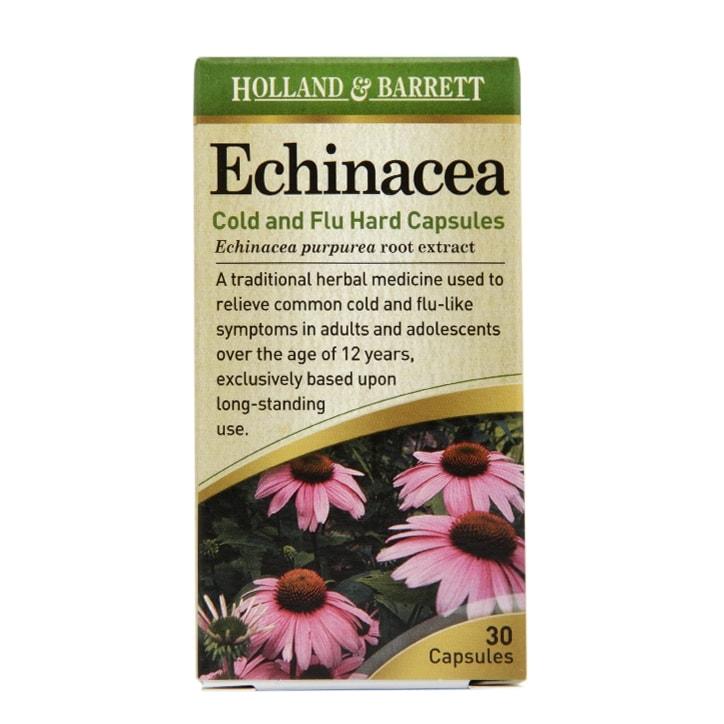 Holland & Barrett Echinacea 140mg 30 Capsules