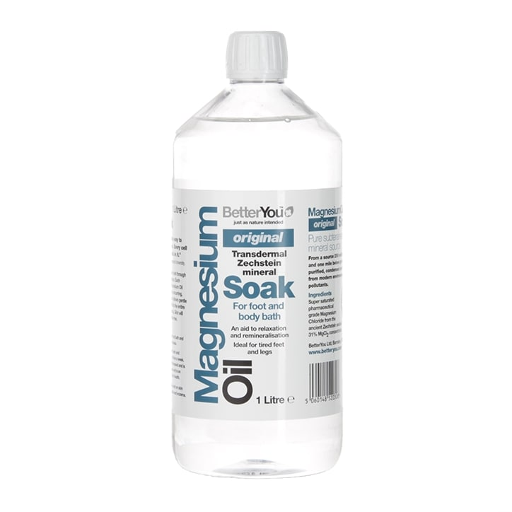 BetterYou Magnesium Oil Original Soak 1L