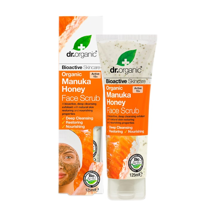 Dr Organic Manuka Honey Face Scrub 125ml