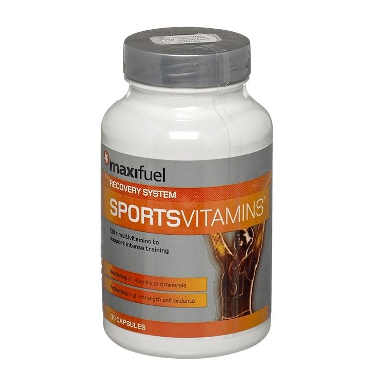Maxifuel Sports Vitamins 30 Capsules