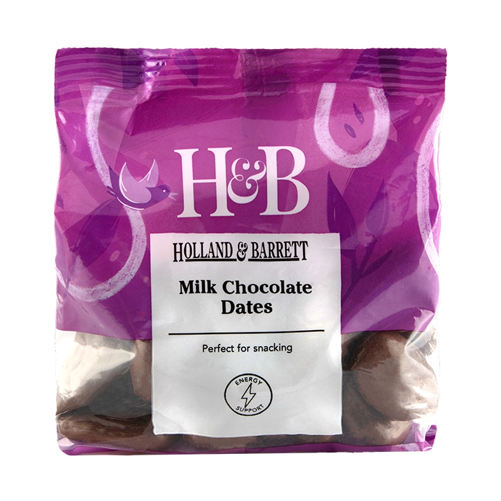 Holland & Barrett Milk Chocolate Dates 250g