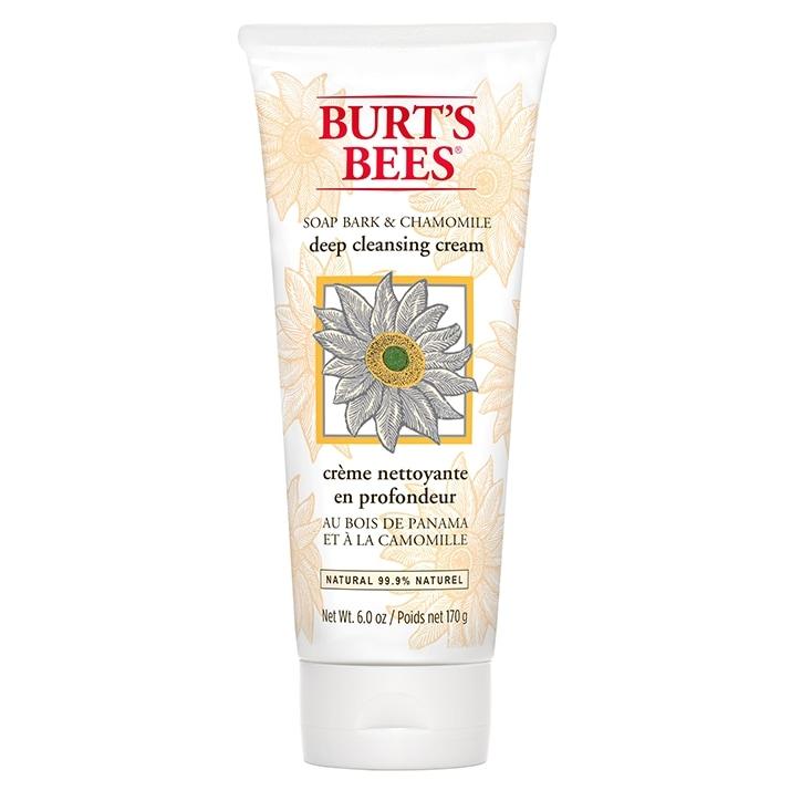 Burt's Bees Soap Bark & Chamomile Deep Facial Cleansing Cream