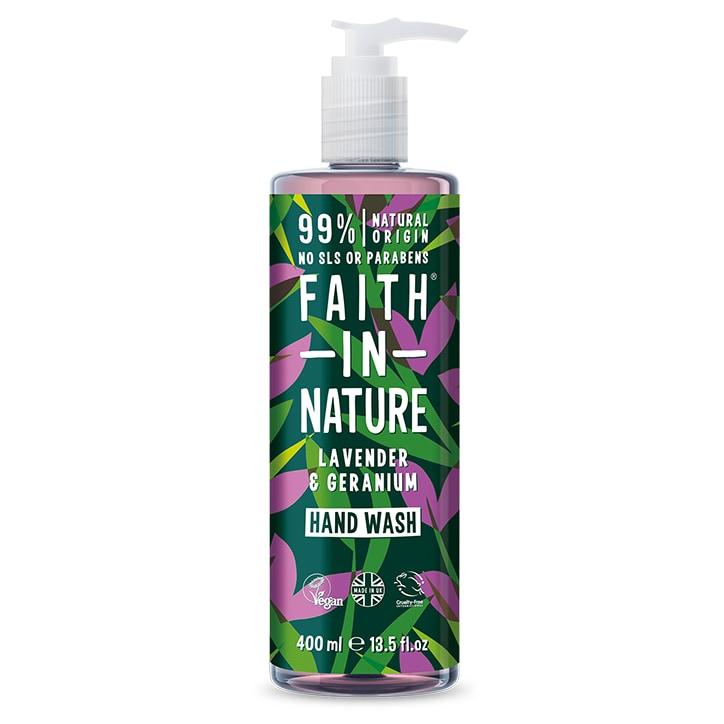 Faith in Nature Lavender & Geranium Handwash