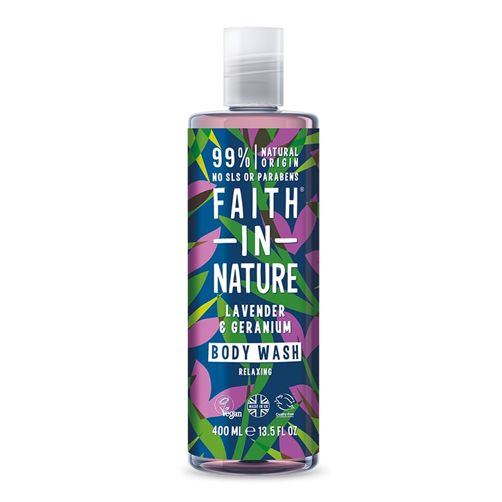 Faith in Nature Lavender and Geranium Body Wash 400ml