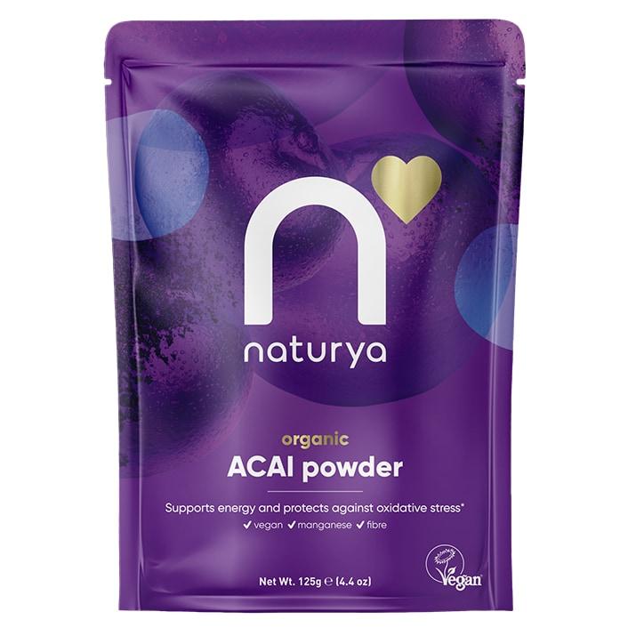 Naturya Organic Acai Powder 125g