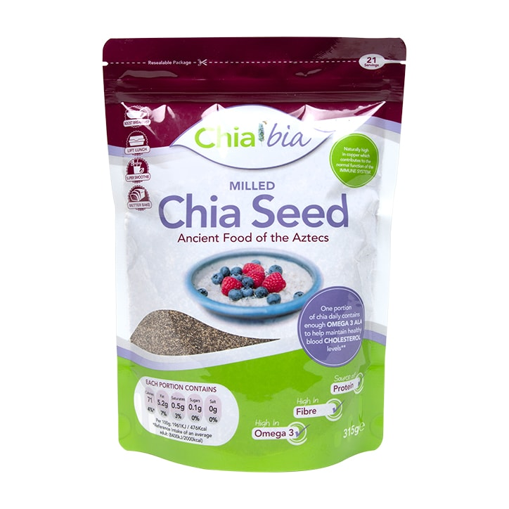 Chia Bia 100  Natural Milled Chia Seed