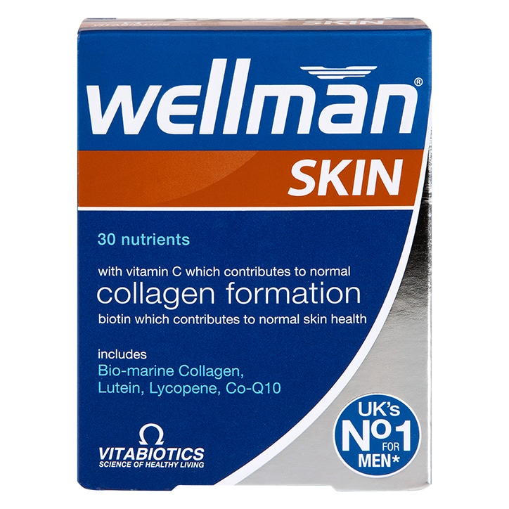 Vitabiotics Wellman Skin Technology Tablets