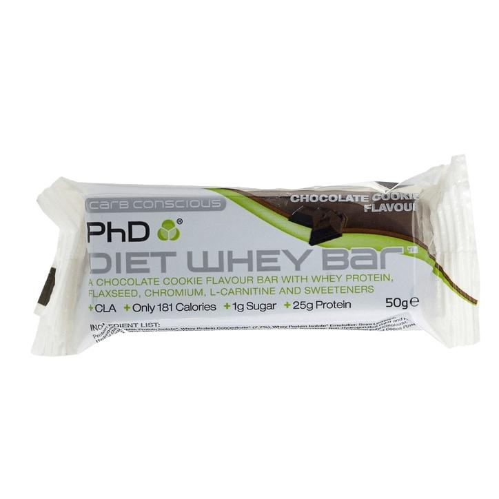 PhD Diet Whey Bar  Chocolate Cookie 50g