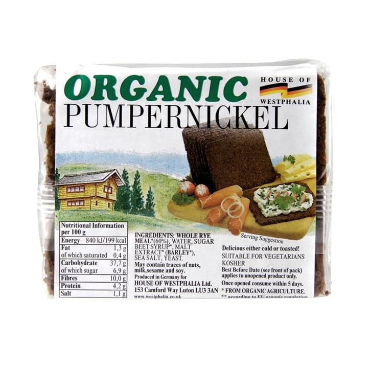 House Of Westphalia Organic Pumpernickel