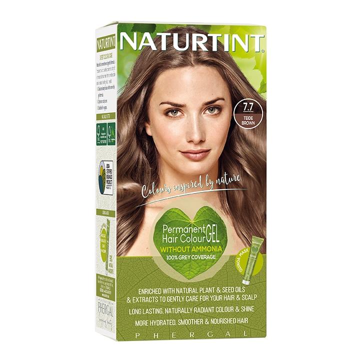 Naturtint Permanent Hair Colour 7.7 (Teide Brown)