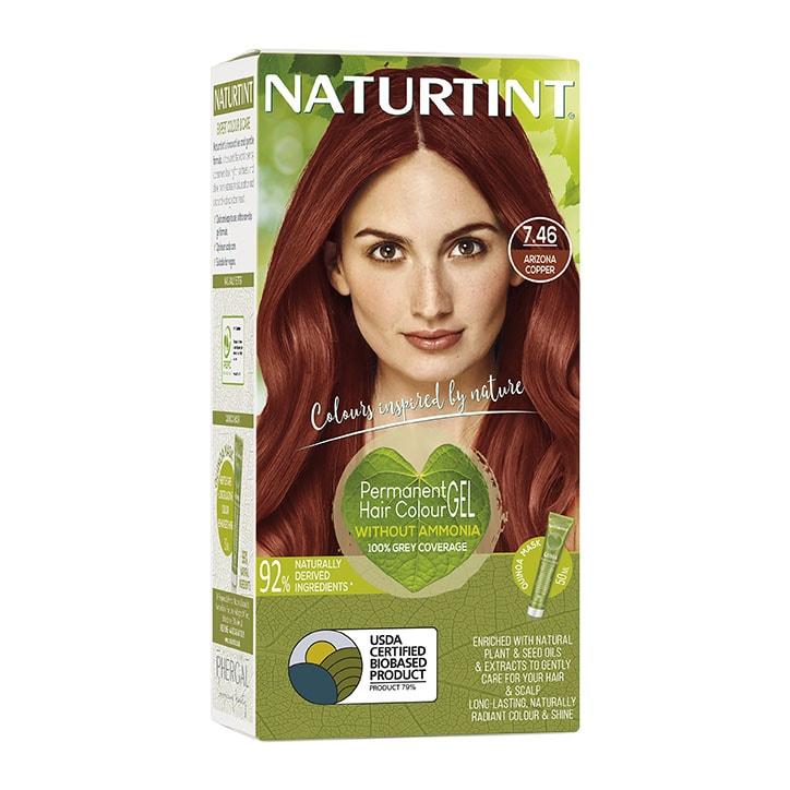 Naturtint Permanent Hair Colour 7.46 Arizona Copper