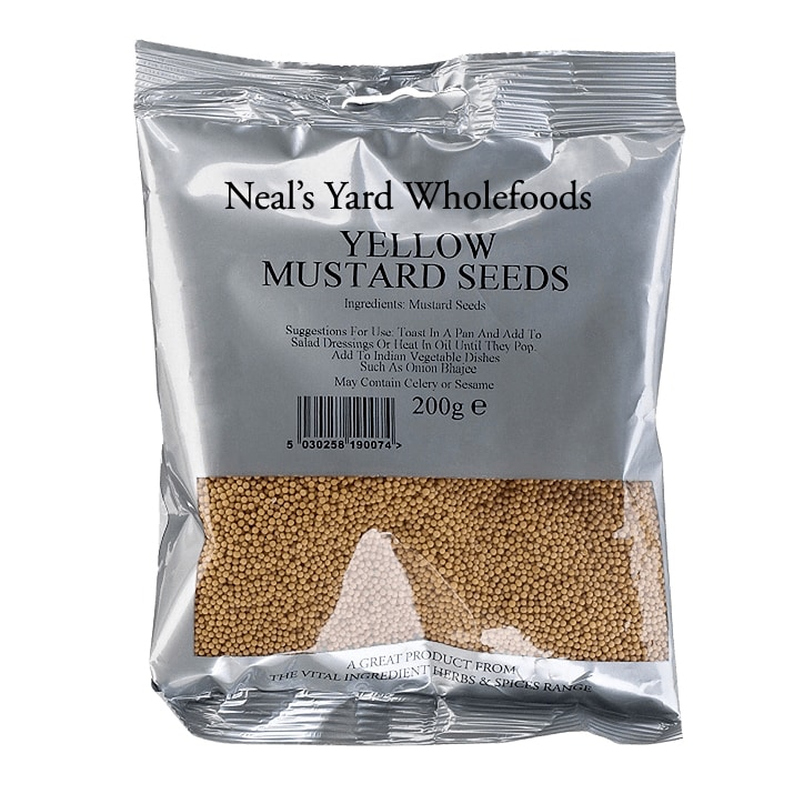Neal's Yard Wholefoods Yellow Mustard Seed 200g