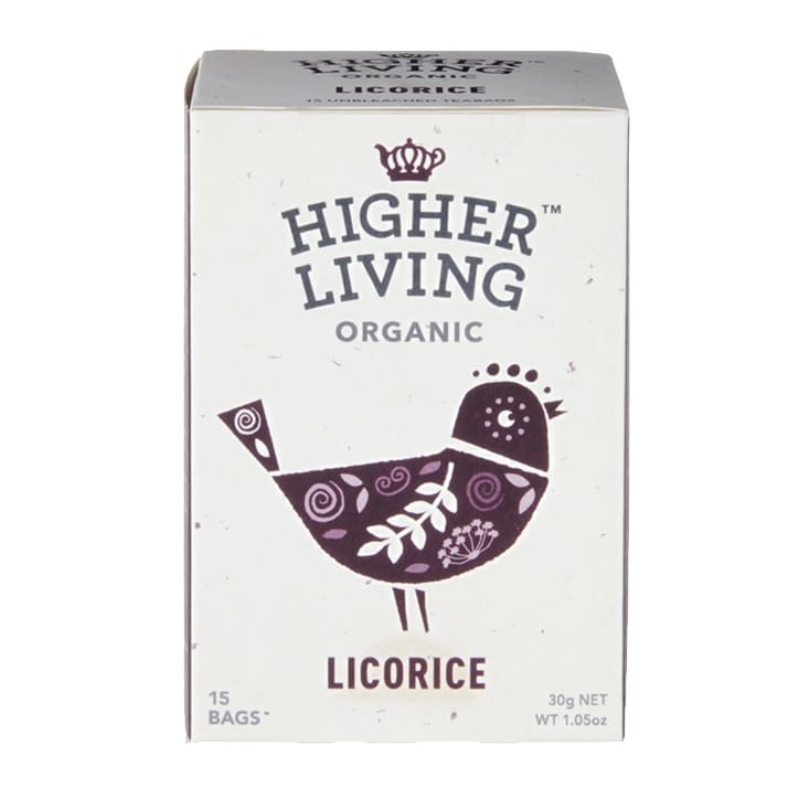 Higher Living Licorice Tea 15 Tea Bags