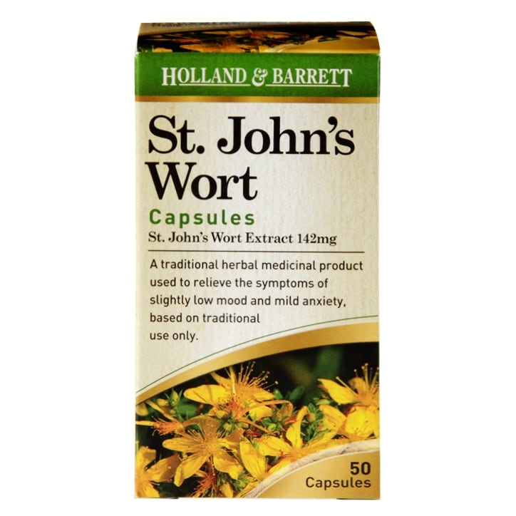 Holland & Barrett St John's Wort 50 Capsules