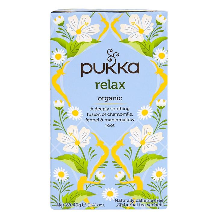 Pukka Relax Tea 20 Tea Bags