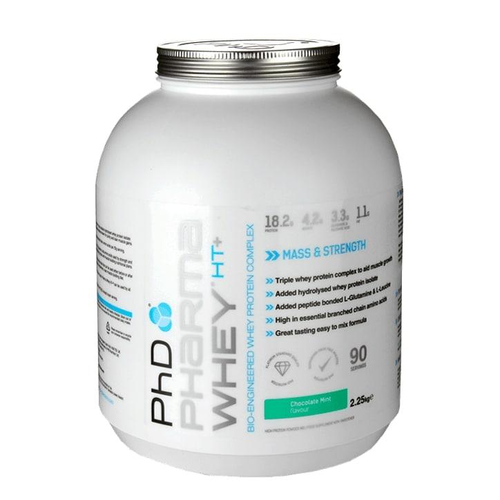 PhD Pharma Whey HT+ Chocolate Mint 2250g Powder