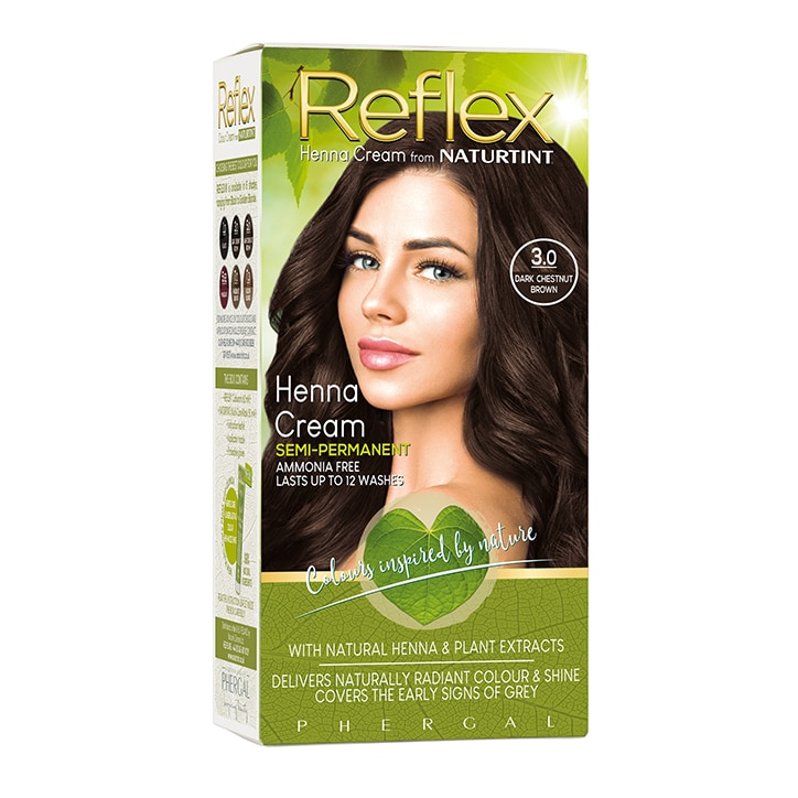 Naturtint Reflex Semi-Permanent Hair Colour 3.0 (Dark Chestnut Brown)