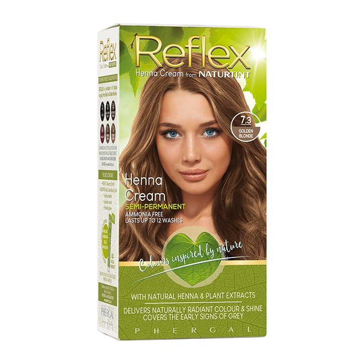 Naturtint Reflex Semi-Permanent Hair Colour 7.3 Golden Blonde