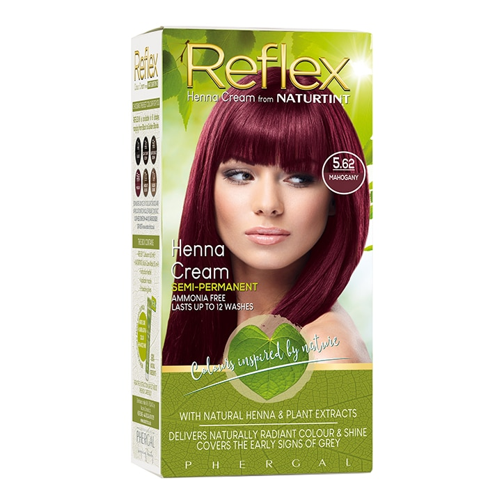 Naturtint Reflex Semi-Permanent Hair Colour 5.62 (Mahogany)
