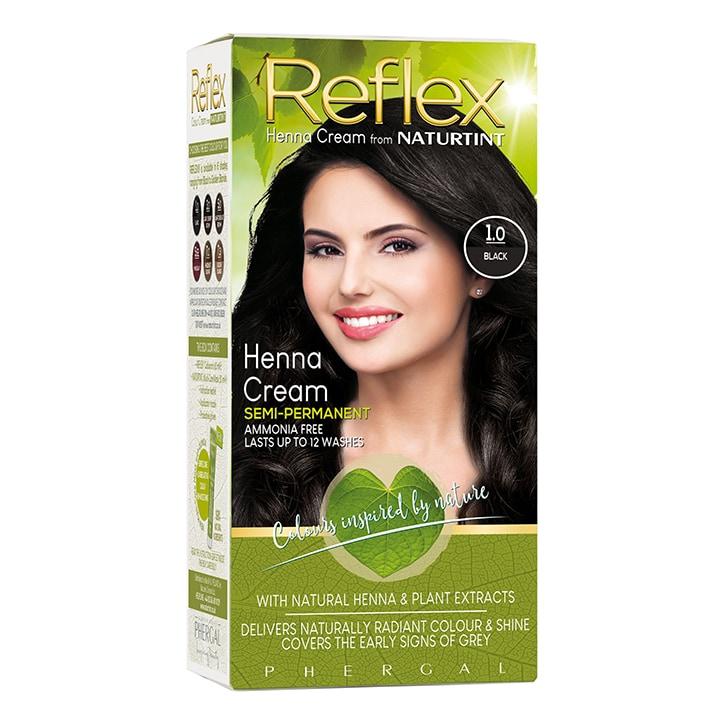 Naturtint Reflex Semi-Permanent Hair Colour 1.0 (Black)