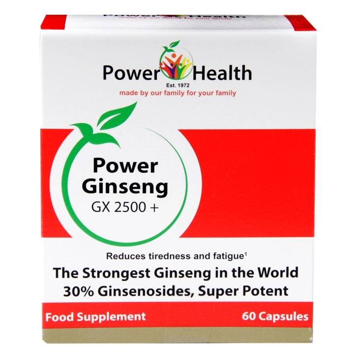 Power Health Power Ginseng GX2500+ 60 Capsules