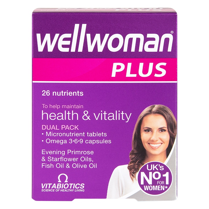 Vitabiotics Wellwoman Plus Omega 369 56 Tablets