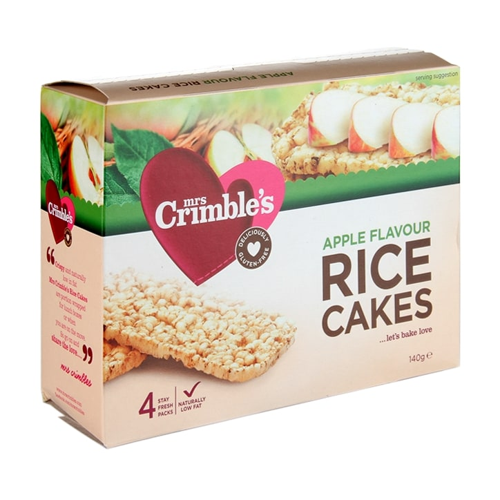 Mrs Crimbles Apple Rice Cakes