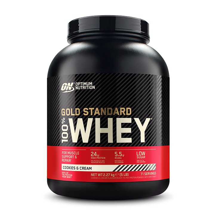 Optimum Nutrition Gold Standard 100% Whey Powder Cookies & Cream