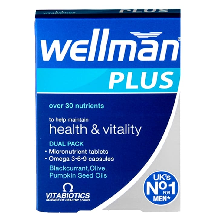 Vitabiotics Wellman Plus Omega 369 56 Tablets