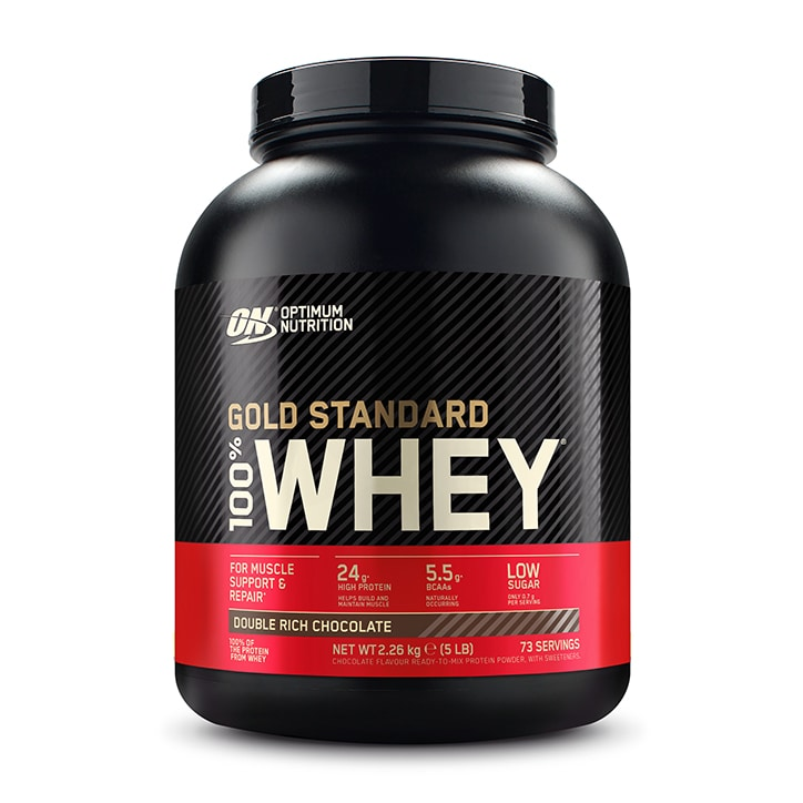 Optimum Nutrition Gold Standard 100% Whey Powder Double Rich Chocolate 2273g