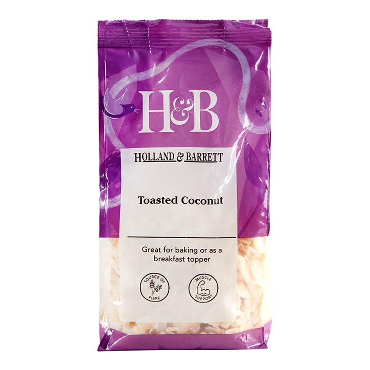 Holland & Barrett Toasted Coconut 200g