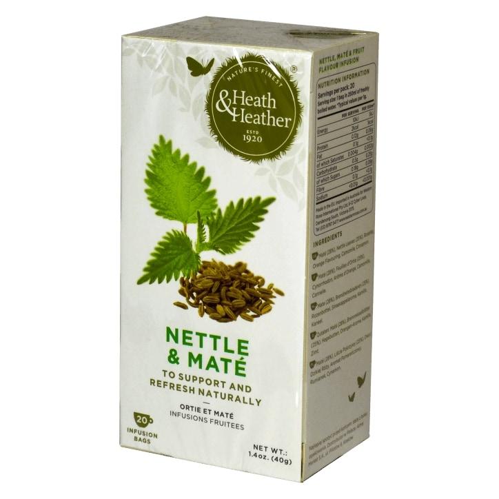 Heath & Heather Nettle & Mate 20 Tea Bags