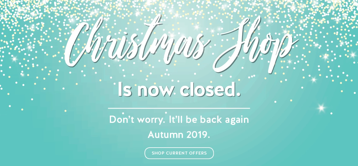 Christmas Shop Is Closed