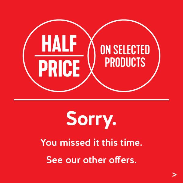 Half Price Closed