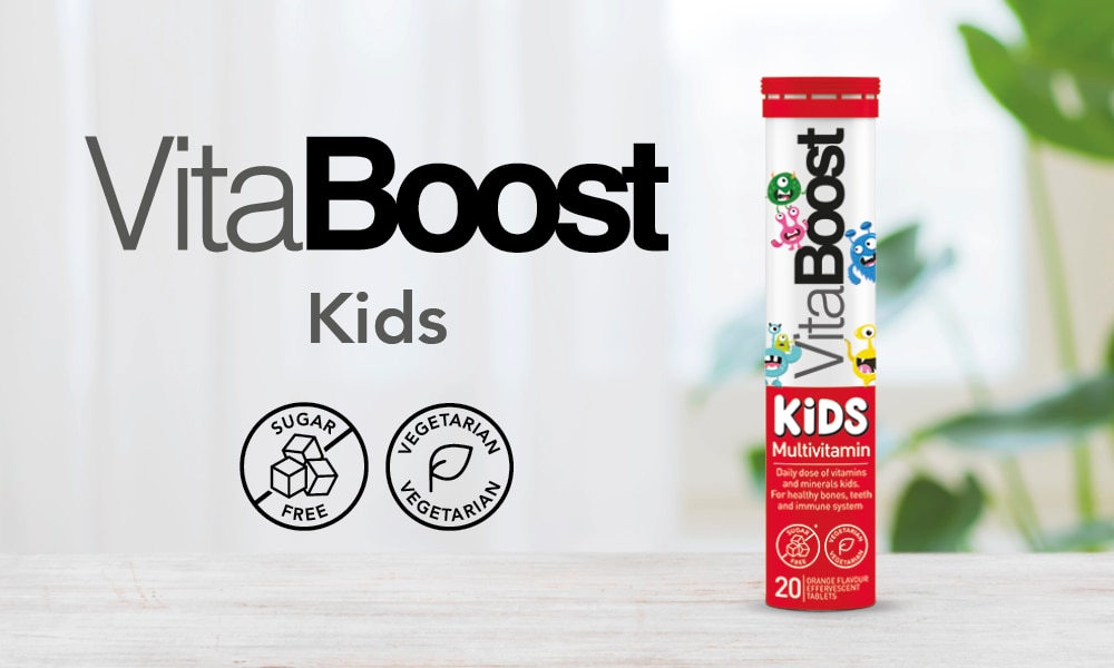 VitaBoost Kids Multivitamin Effervescent