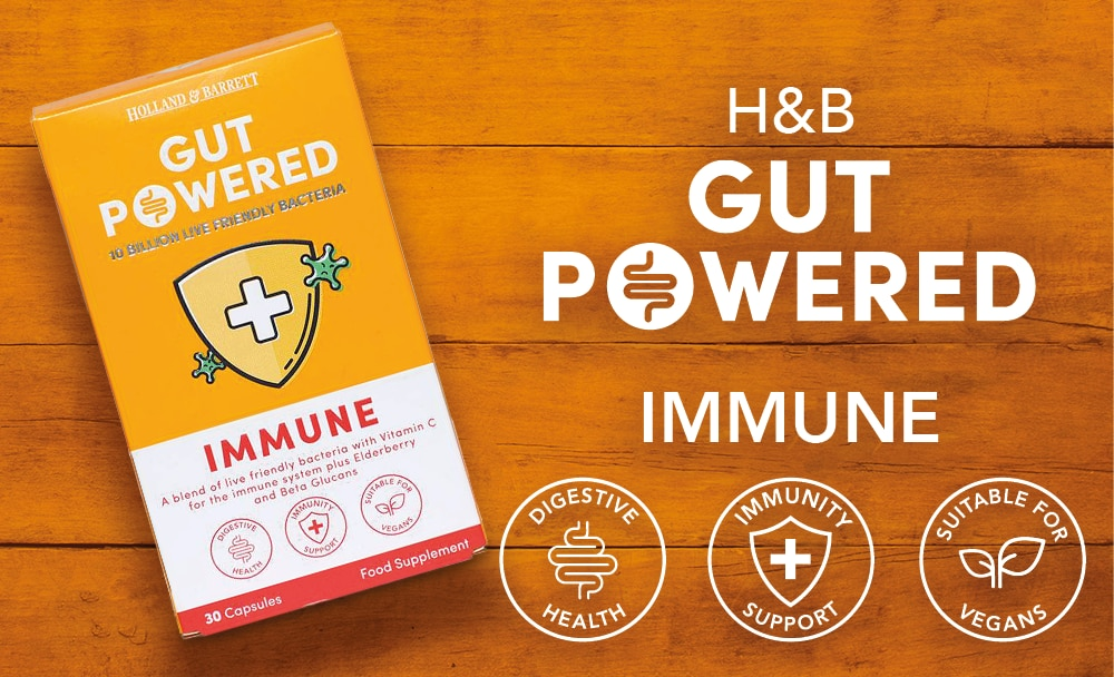 Gut Powered Immune