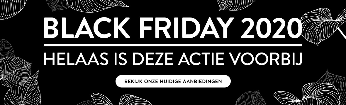 Black Friday is voorbij