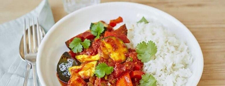 Vegan low-cal curry
