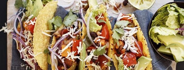 Smoky bean tacos image