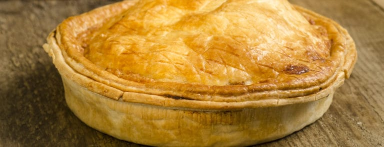 Pies fit for a king