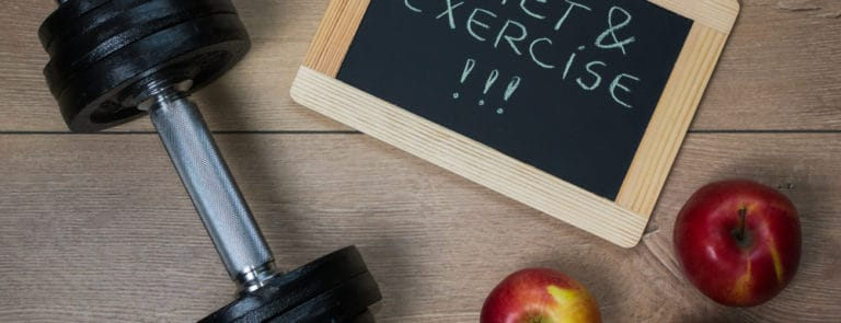 How to get the perfect combination of diet and exercise image