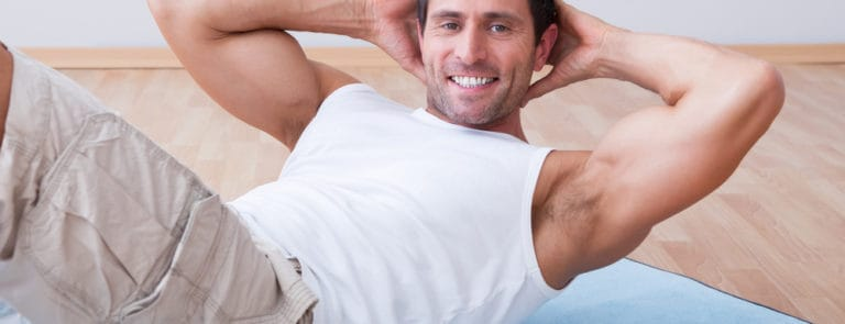 Weight loss & exercise for men image