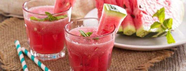 Watermelon & Mint smoothie