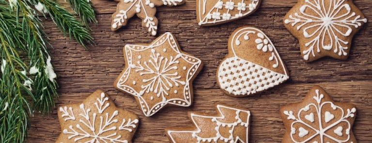 Gluten-free gingerbread biscuits recipe image