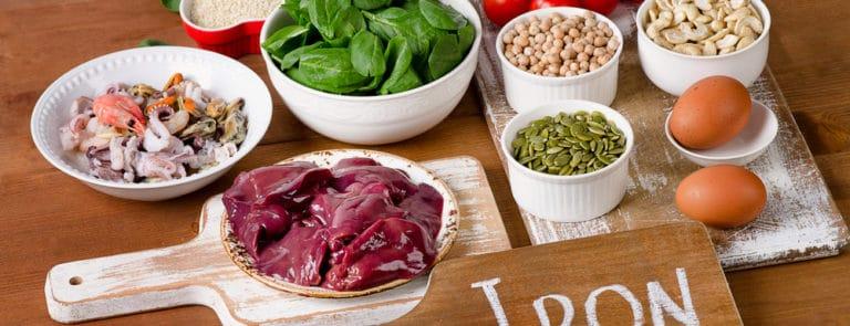 Iron heavy foods