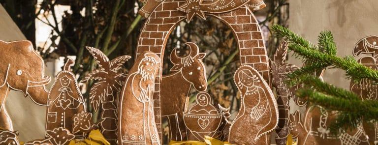 Gingerbread nativity scene recipe