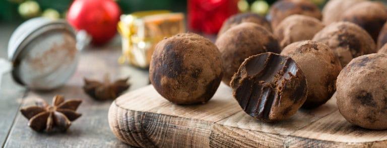 Healthy Christmas Truffles Recipe